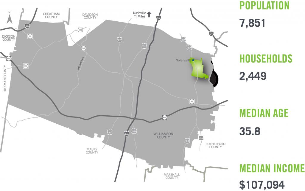 Nolensville Map