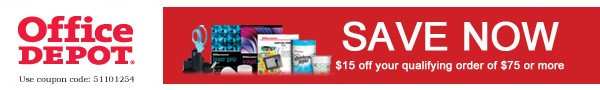 Office Depot - Aug offer