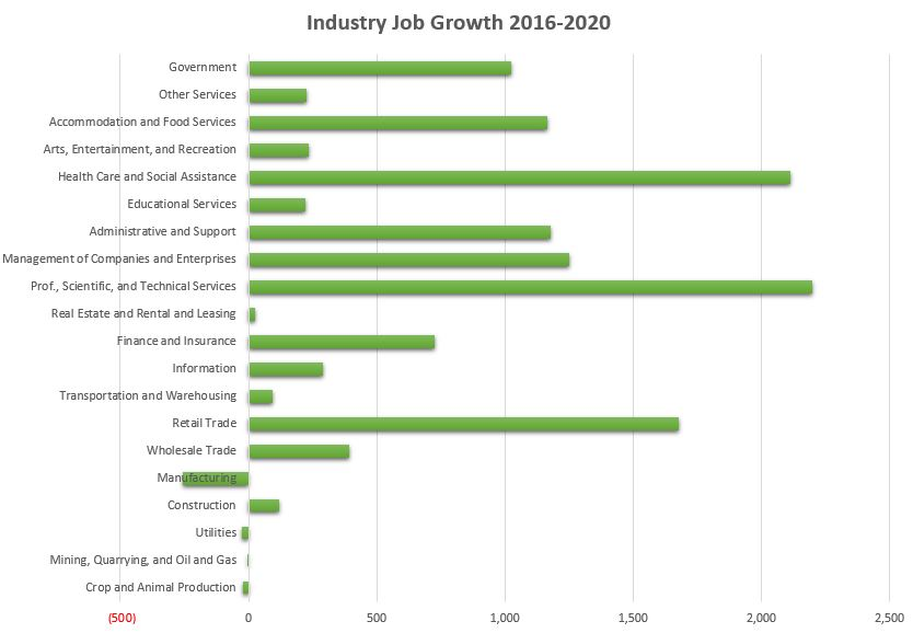 2016-2020 Industry Projections