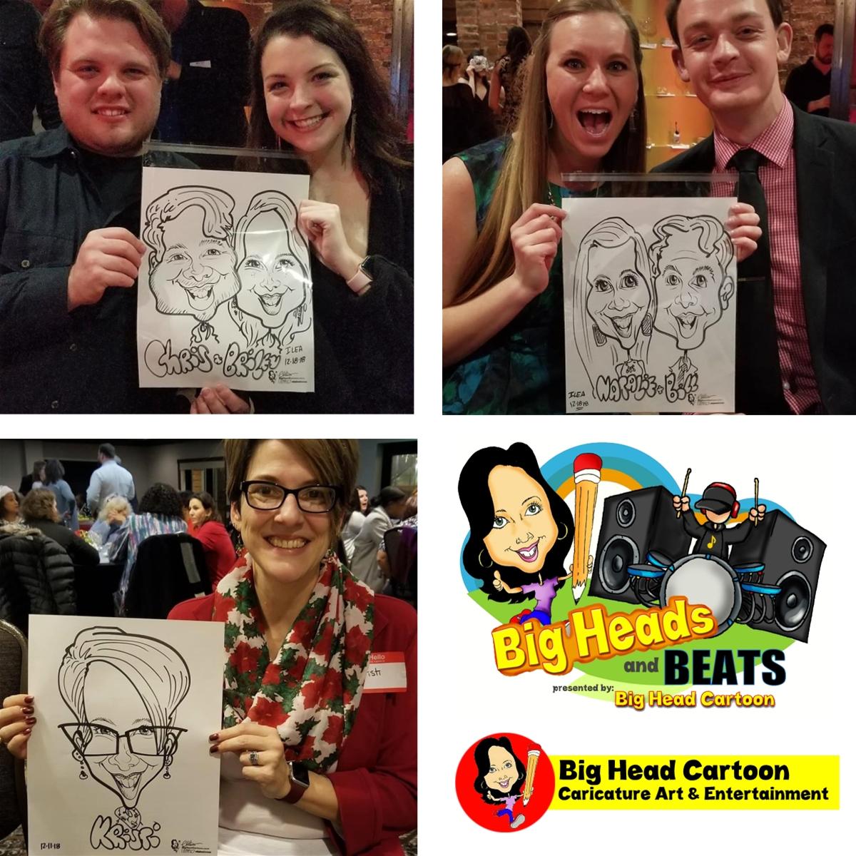 Big Head Cartoon Caricature Art Entertainment Williamson Inc