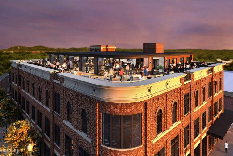 231 Public Square rooftop