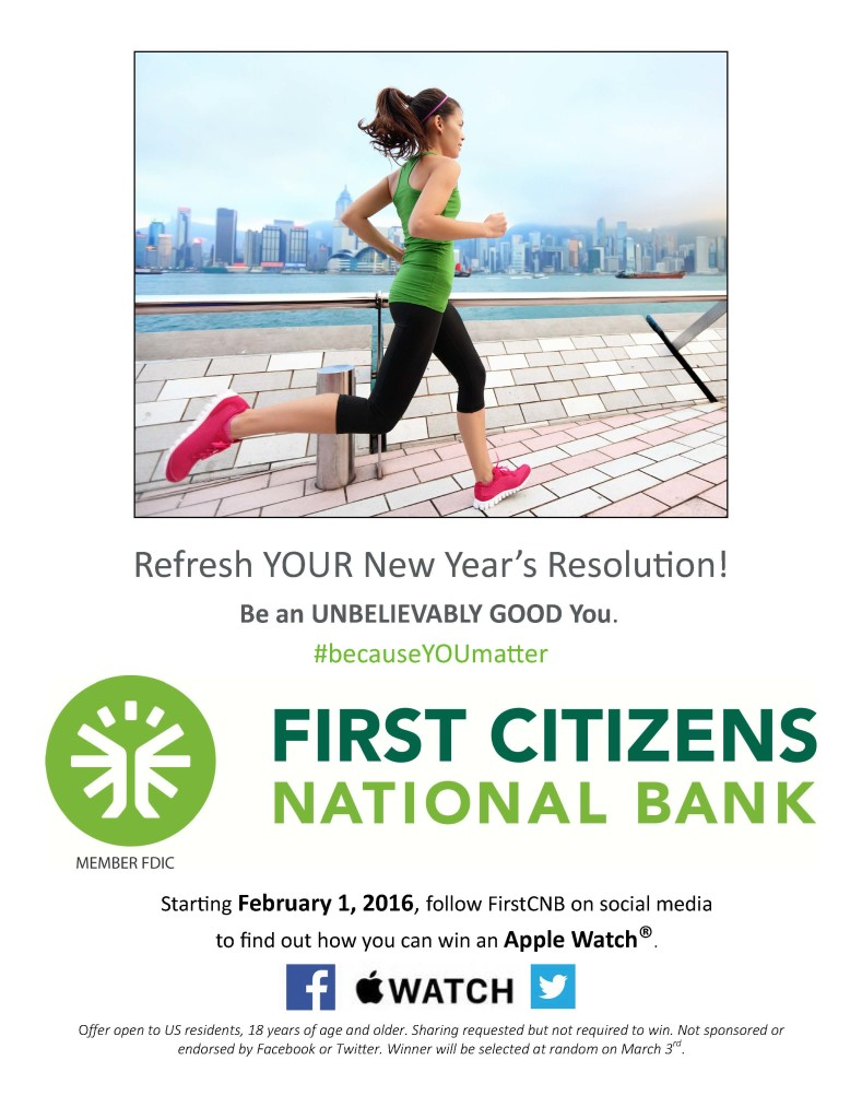 First citizens new year Flyer
