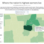 high earners map