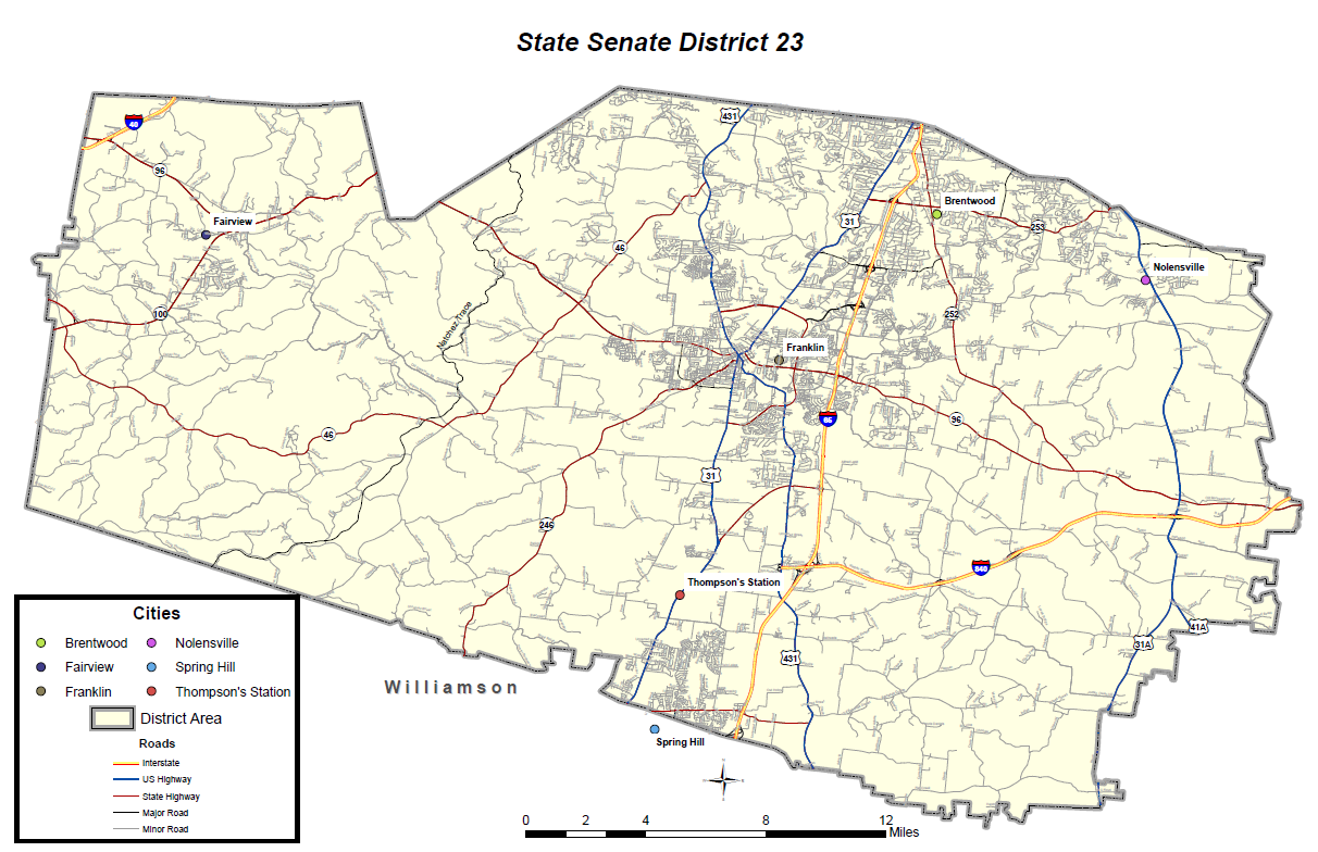 State Senate District 23