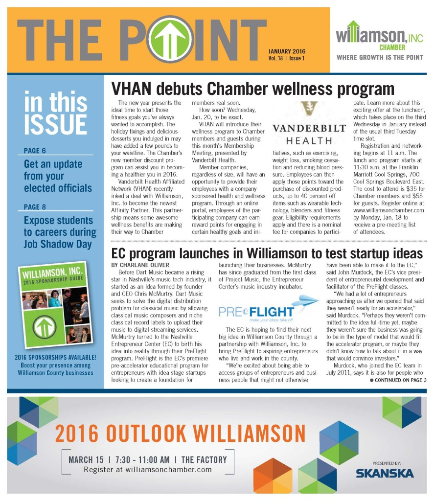 The Point - Jan 2016 pg1