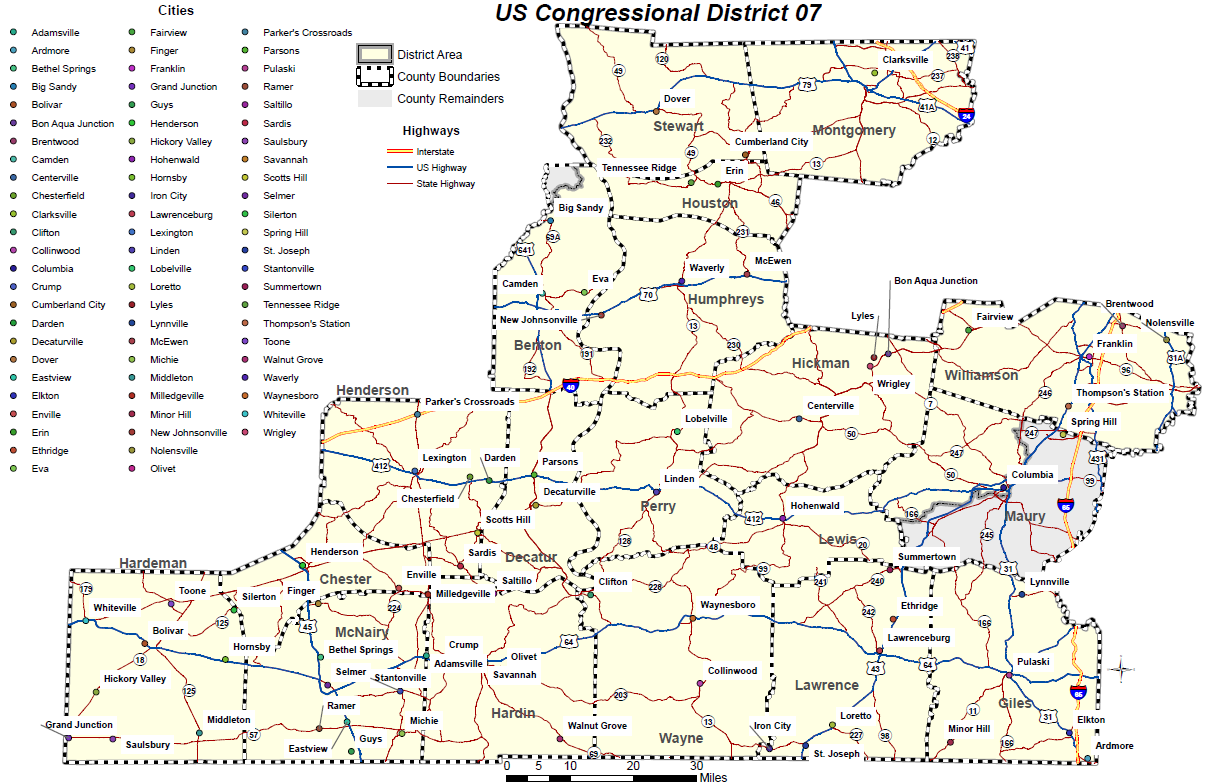 DISTRICT MAPS Williamson IncWilliamson Inc