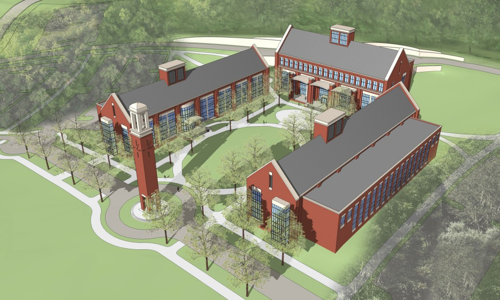 Rendering of new Williamson Campus. Photo courtesy of Columbia State Community College